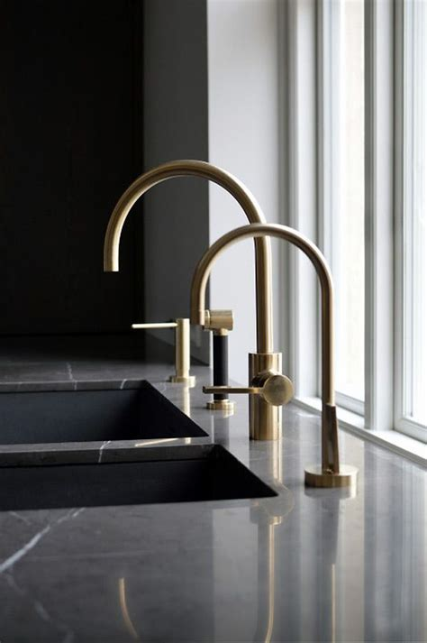 modern kitchen taps 17 best ideas about brass faucet on gold