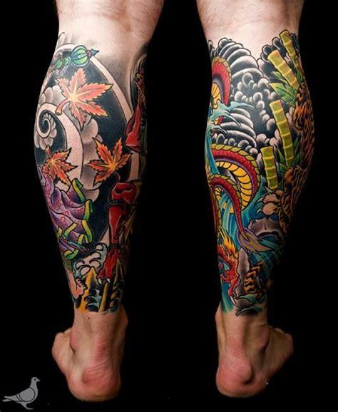 tattoo oriental pierna japanese leg sleeve google search tatuajes japoneses