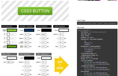 creating css online css button generators