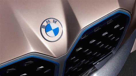 bmw debuts  flatter logo  concept