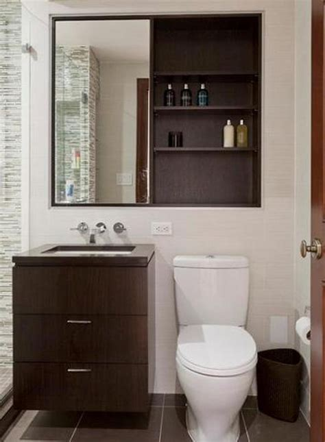 mirror toilet wood bathroom medicine cabinets