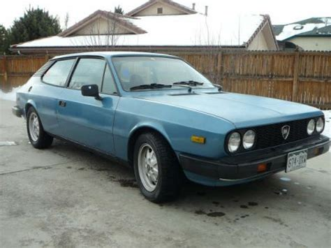 1978 Lancia Beta Coupe In The Usa 1978 Lancia Beta Hpe Hatchback Bring A