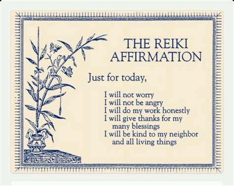 today  reiki affirmation affirmations