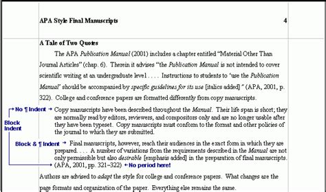 Apa Format Quoting A Quote Within An Article | apa format quoting a quote within a quote