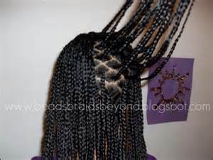 parting hair when braiding a beads braids and beyond quicker box braiding method