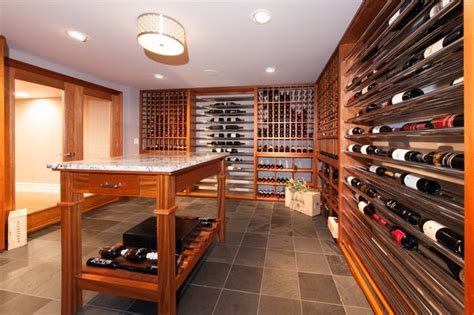 wine cellar and tasting room contemporary basement wine cellar and tasting room traditional wine cellar other metro