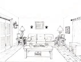 one point perspective room by pockyshark on deviantart