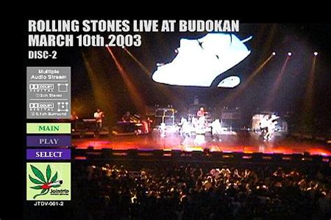 Dvd Import Theater Live At Budokan the rolling stones live at the budokan tokyo japan march 10 2003 dvd