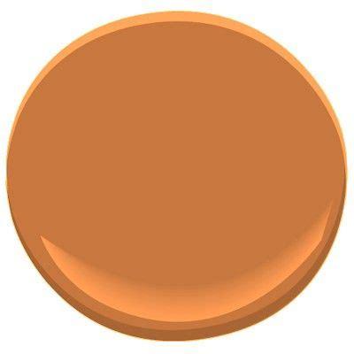 benjamin moore burnt orange bronze tone 2166 30 this deep burnt orange makes a bold