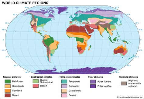 climate classification of climates students
