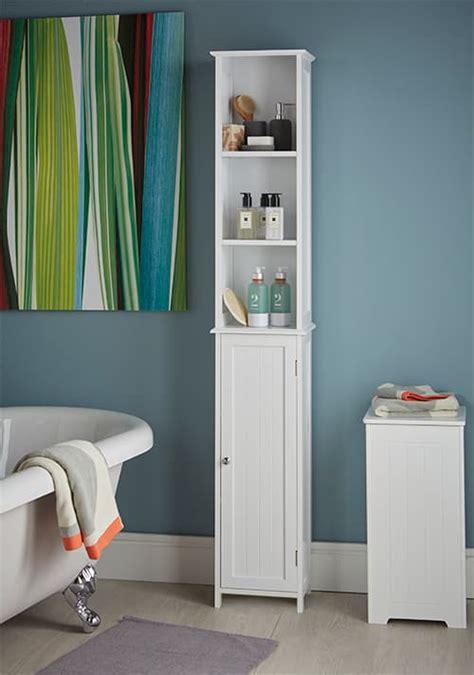 store slimline tall bathroom storage cabinet