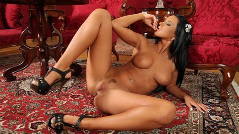 Naked Brunette Beauty With Brunette Hair On The Floor Looking Really Hot Wallpaper X