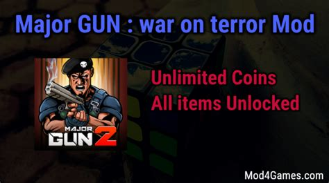 major mod apk major gun war on terror hacked mod apk free with offline obb data archives mod4games