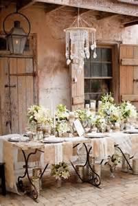 Shabby Chic Window Treatment Ideas - decoraci 243 n para una boda vintage