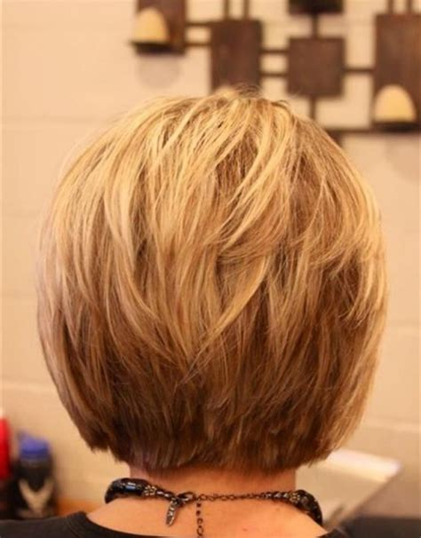back view only of long bob collections of short hairstyles front and back view 2014