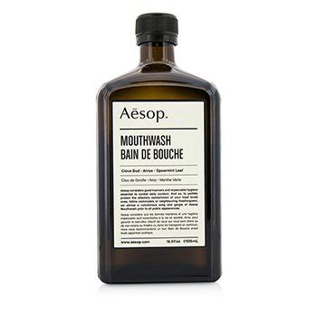 Mouthwash 500ml 16 9oz aesop skincare strawberrynet au