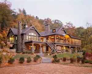 adirondack lakefront homes for custom home southern maine adirondack style lake house