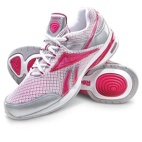 s reebok 174 easytone reenew shoes white fushia