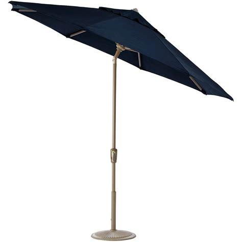 auto tilt patio umbrella home decorators collection 7 5 ft auto tilt patio