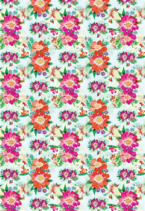 free printable wrapping paper online bright blooms printable wrapping paper