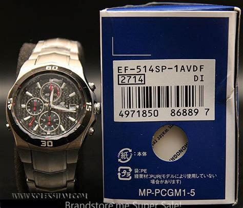 Jam Tangan Edifice Ef305d Original jam tangan casio edifice collection jump shop