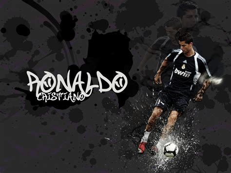 wallpaper graffiti real madrid cristiano ronaldo cr7 football player real madrid