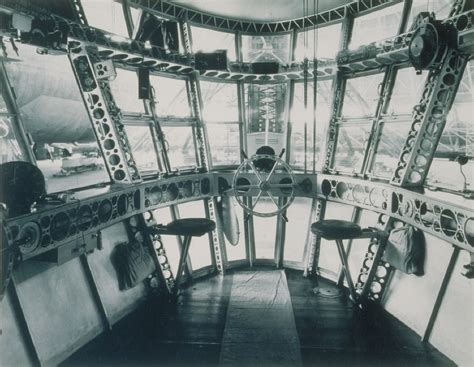 Airship Interior by Wreck Of Airship Uss Macon Added To National Register Of