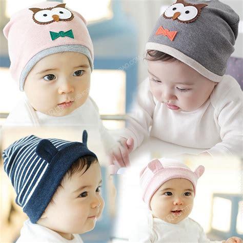 Topi Bayi 5 In 1 anak bayi laki laki perempuan bayi topi balita beanies katun topi anak aksesoris di topi dari