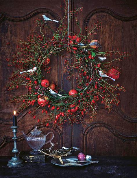 Adventsdekoration Selber Machen by Weihnachtsdeko Einen T 252 Rkranz F 252 R Weihnachten Basteln