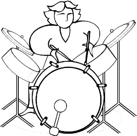 free rock rock and roll coloring pages