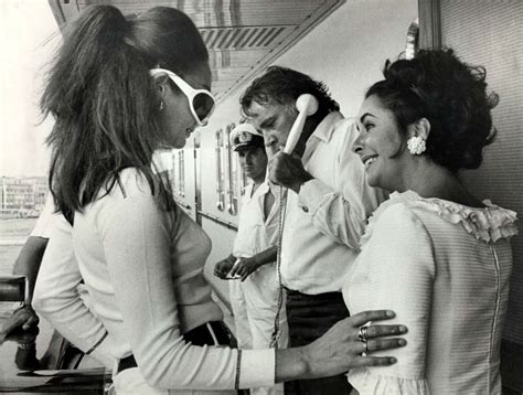 K D Kruwil Set Ari callas and elizabeth on onassis yacht jet