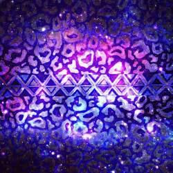 Animal Print Shower Curtains - tribal leopard galaxy animal print aztec native pattern geometric purple blue ombre space