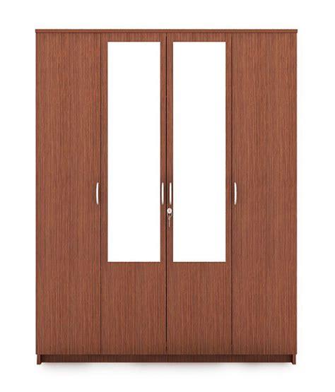 Housefull Furniture Complaints by Housefull 4d Mirror Wardrobe Oak Buy Rs