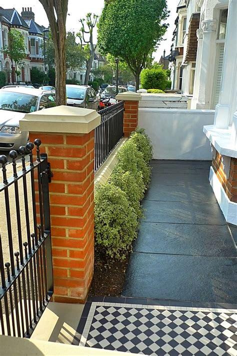 designer home decor front garden design rubber brick wall