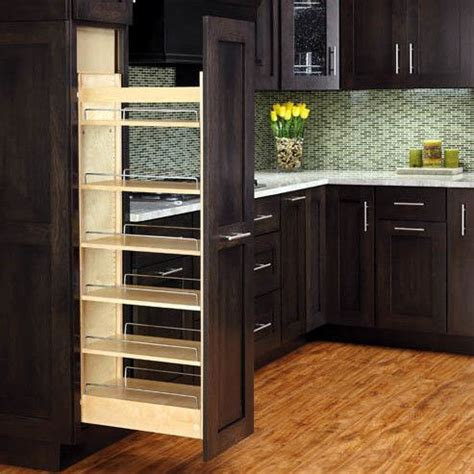 kitchen cabinet slide outs 25 best ideas about pull out pantry on pinterest canned