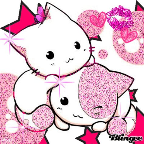 cute pink kittys picture  blingeecom
