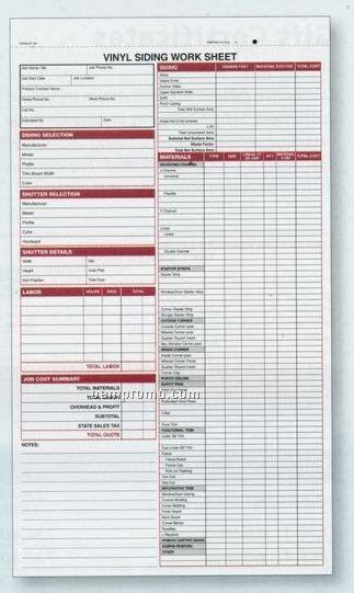 Vinyl Siding Estimate Sheets China Wholesale Vinyl Siding Estimate Sheets Siding Quote Template