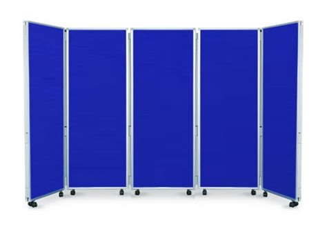 mobile display mobile 5 panel folding display boards 1500mm high ral