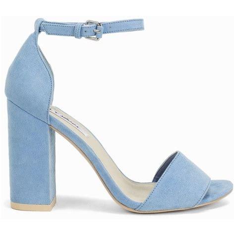 light blue block heels light blue shoes heels fs heel