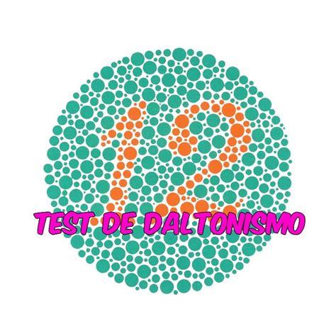 daltonismo test test de daltonismo cartas de ishihara 191 diferencias bien
