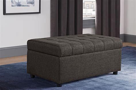 small rectangular storage ottoman emily rectangular storage ottoman dhp furniture