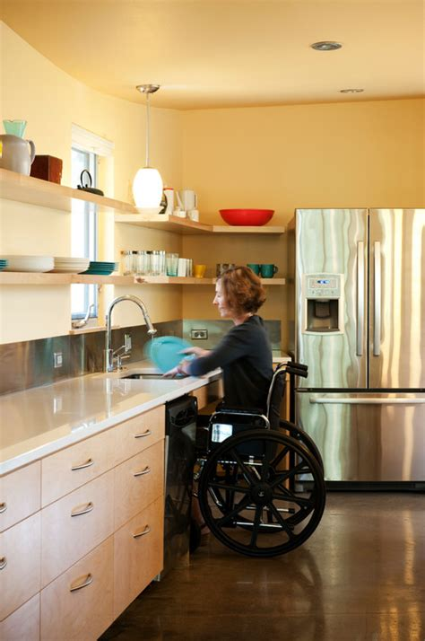 wheelchair accessible kitchen design wheelchair accessible kitchen by studio 512
