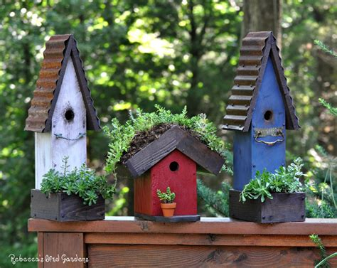 Metal Garden Art Birds - 20 stunning bird houses a collection of beautiful birdhouses