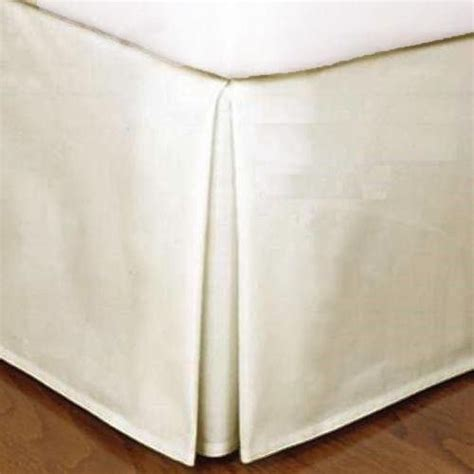 queen size bed skirts beige micro suede queen size dust ruffle bedding bed skirt