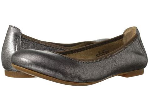born adele distressed leather ballet flat born julianne pewter zappos com free shipping both ways