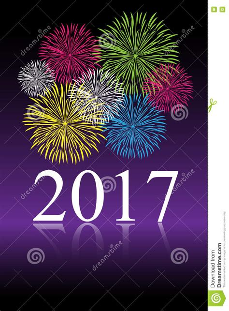 new year festival 2017 2017 new year celebration stock vector image 72949864