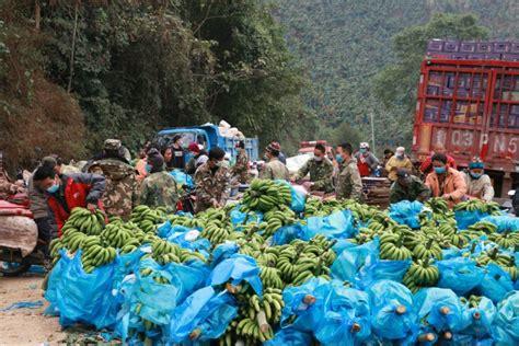 yunnan donates vegetables fruit   fight virus