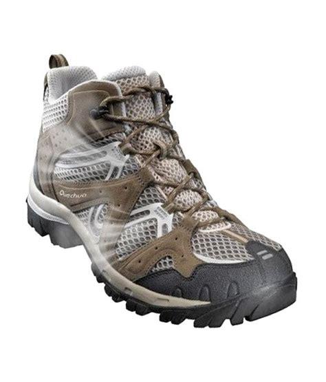 quechua running shoes quechua forclaz fresh brown hiking footwear 8169370 price