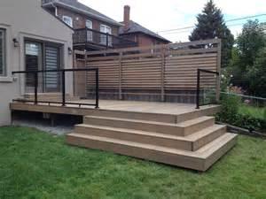 deck railings deck railings flex fence louver system