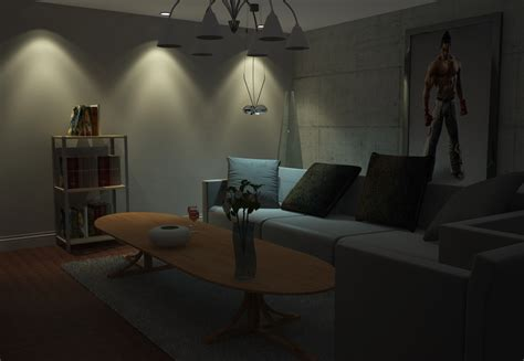 living room nightclub apartment living room at night decorating clear